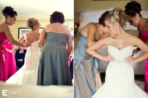 Photo by Elario Photography - Bigler Productions Blog - Videography Coverage - Melissa & Dave Dress
